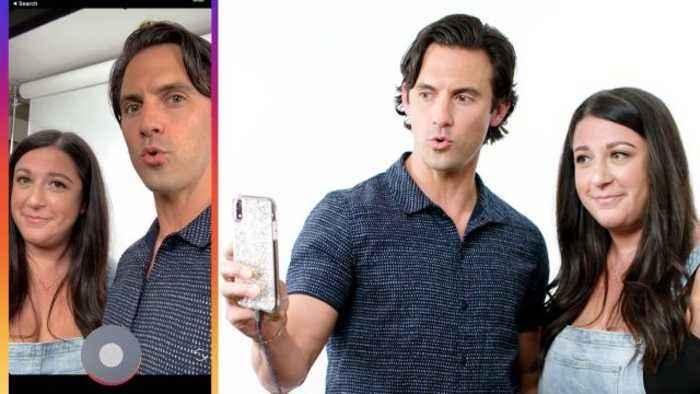 Milo Ventimiglia Hijacks a Stranger's Phone