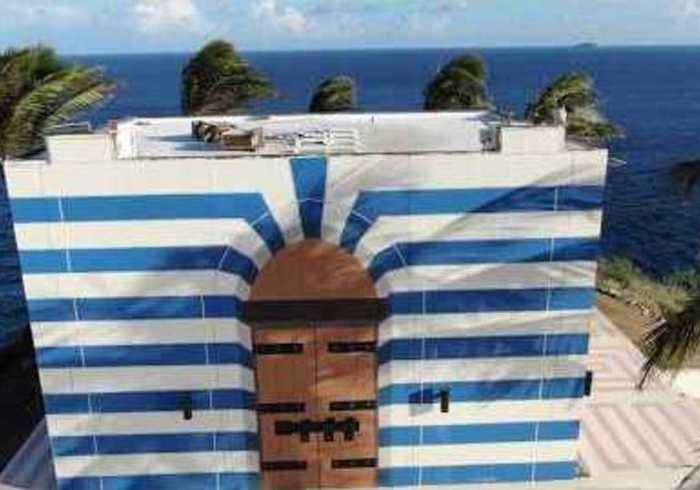 Drone Gives Up-Close Look at Building on Jeffrey Epstein's Private Island