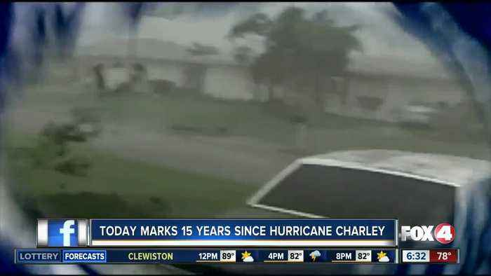 Survivors remember Hurricane Charley 15 years later