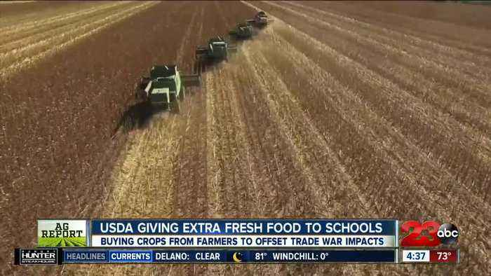 Ag Report: Climate change could lead to less food, and China trade war is benefitting schools