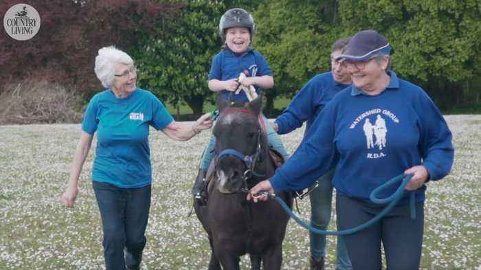 How therapy horses change the lives of riders, carers and volunteers