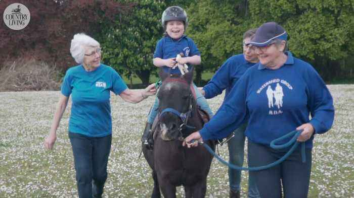 Taking the reins: How therapy horses change the lives of riders, carers and volunteers alike