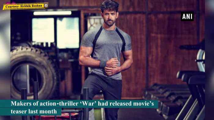 Hrithik Roshan unveils another power packed poster of War