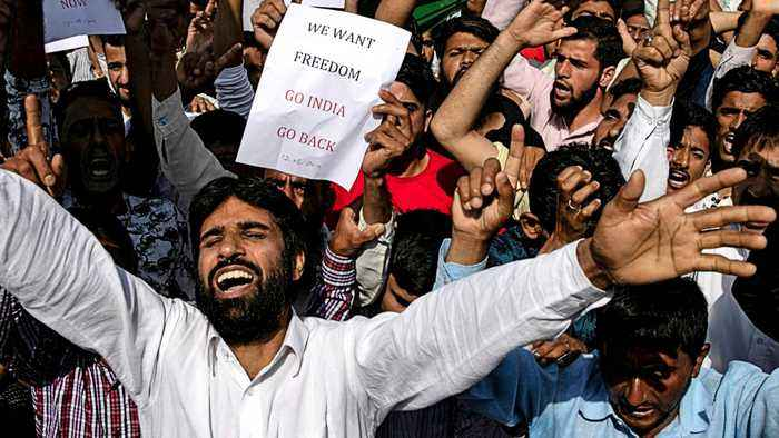 Kashmir's protest against India overshadows Eid festivities