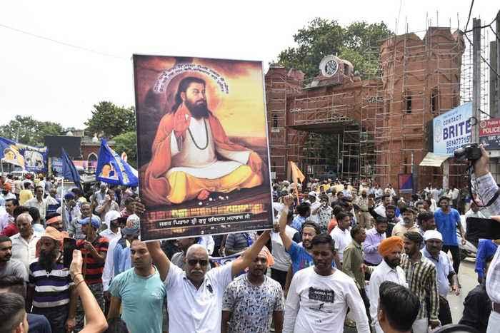 Protests rock Punjab over demolition of 15th century Guru Ravidas temple