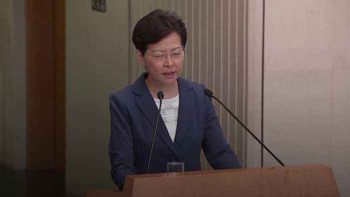 Hong Kong leader defends police after call for 'brutality' probe