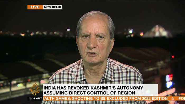 US mediation between India and Pakistan on Kashmir