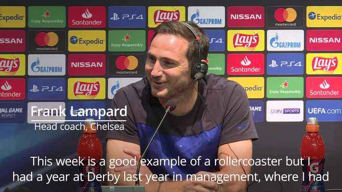 Frank Lampard is prepared for Chelsea 'rollercoaster'