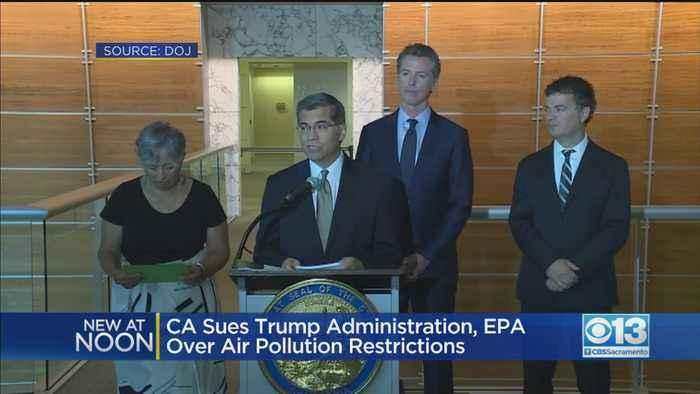 Lawsuit Over Air Pollution Restrictions