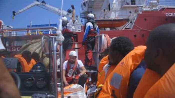 507 migrants stranded in Mediterranean