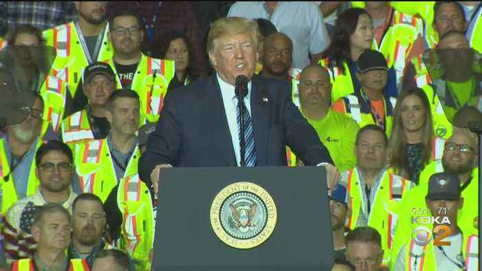 Trump Visits Cracker Plant, Hopes To Boost Local Economy