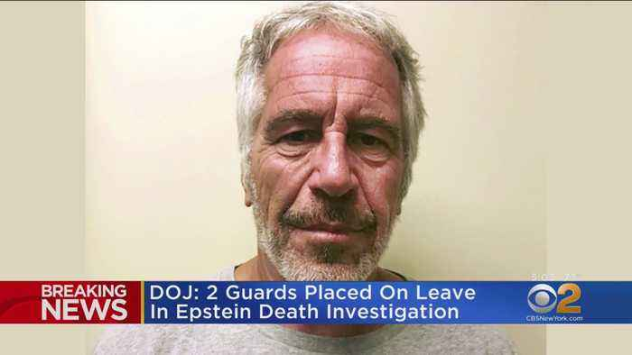 Guards Placed On Leave After Epstein Death