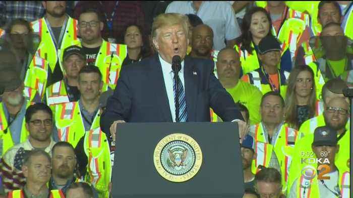 Recap Of President Trump's Cracker Plant Visit