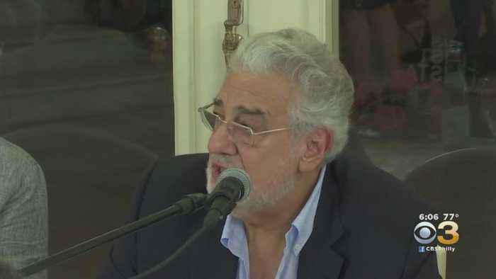 Philadelphia Orchestra Cancels Performance By Placido Domingo After Sexual Harassment Allegations