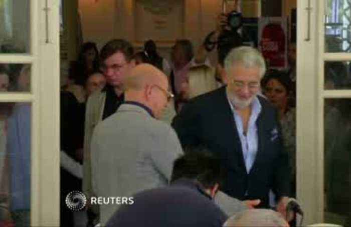 Placido Domingo accused of sexual misconduct