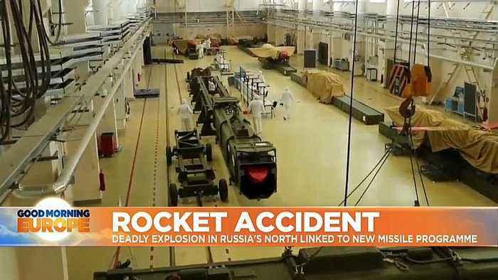 Washington links rocket accident to secretive Russian missile programme