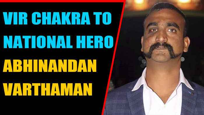 Wing Commander Abhinandan Varthaman to get Vir Chakra on Independence Day