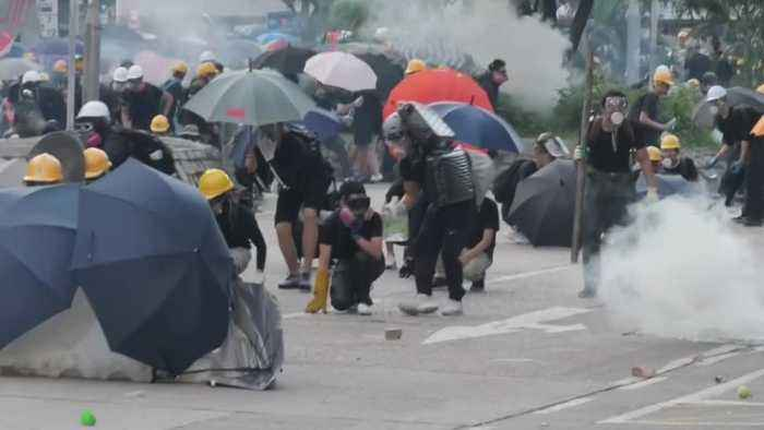 China Braces For Military Action In Hong Kong