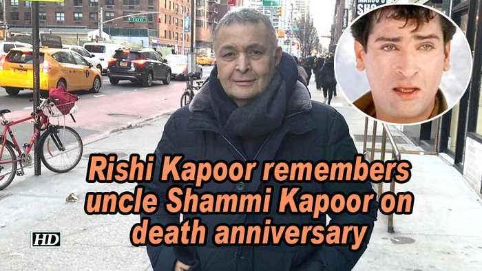 Rishi Kapoor remembers uncle Shammi Kapoor on death anniversary