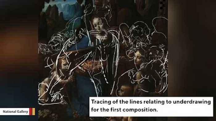 Abandoned Sketch Found Underneath Leonardo da Vinci's 'Virgin of the Rocks'