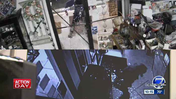 Still no arrests after brazen smash-and-grabs in Arapahoe County
