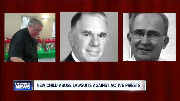 More priest lawsuits alleging child sex abuse - some against active serving priests.
