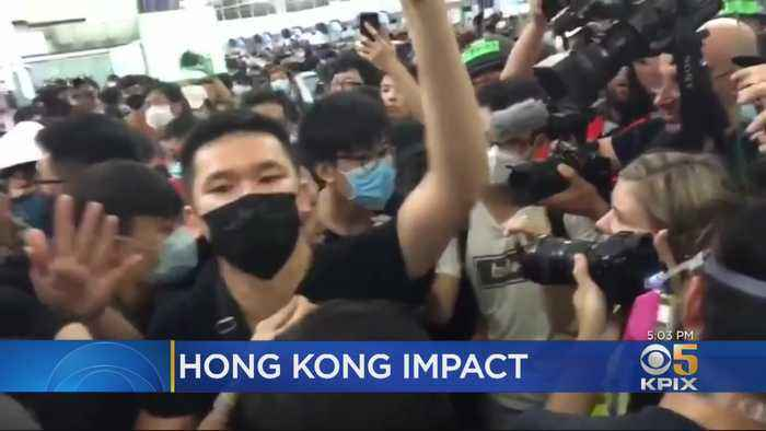 Hong Kong Protests Impacting Bay Area Travel, Trade