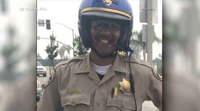 NHP troopers paying tribute to fallen CHP officer