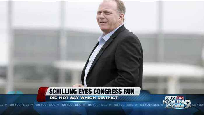 Curt Schilling says he may run for Congress in Arizona