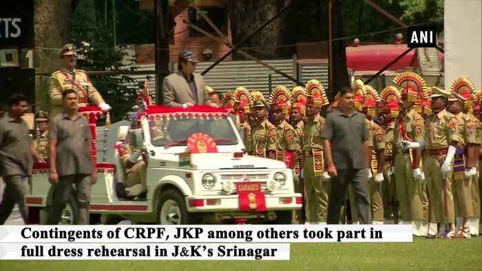 Dress rehearsal for 73rd Independence Day held in Udhampur and Srinagar