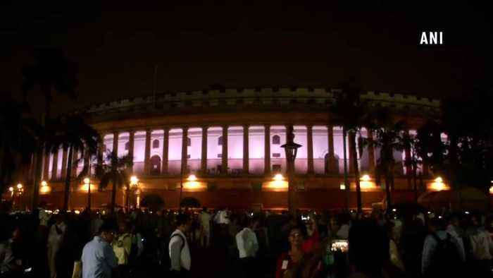 Dynamic facade lighting of Parliament House Estate