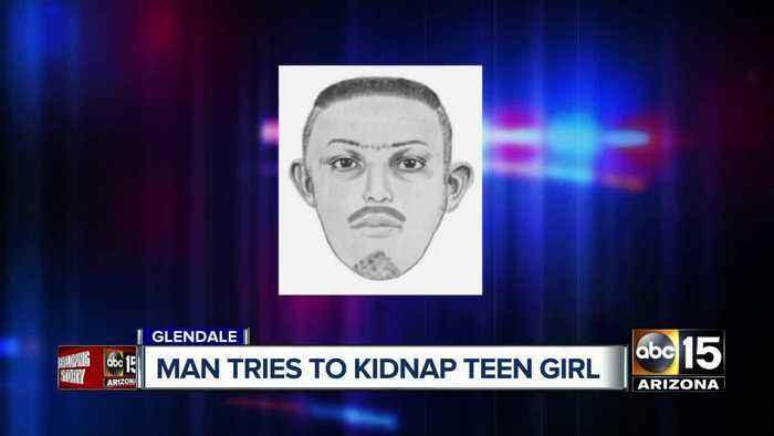 Man tries to kidnap teenage girl in Glendale
