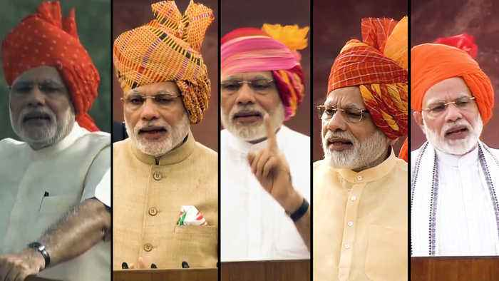 PM Modi's Independence Day speeches: Focus areas from 2014 to 2018