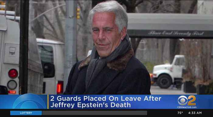 2 Guards Placed On Leave After Jeffrey Epstein's Death