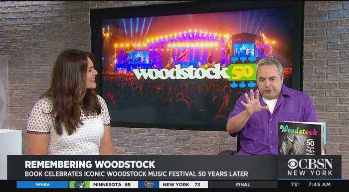 'Woodstock 50' Author Seeks To Capture Music Festival's Iconic Legacy