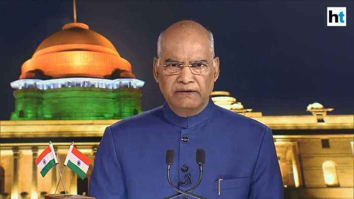President Ram Nath Kovind lists benefits of Article 370 abrogation in J&K