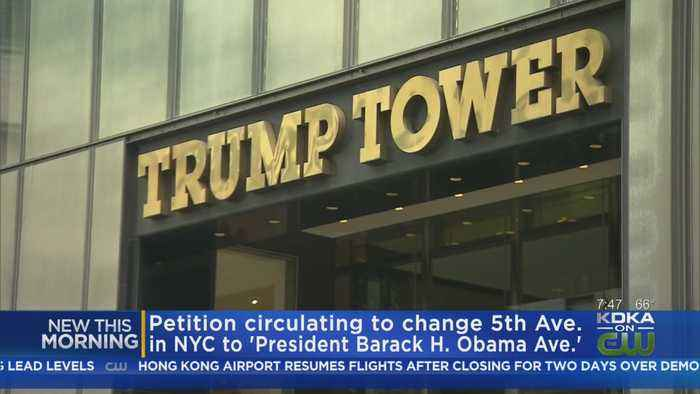 Petition To Change Trump Tower Address To President Barack H. Obama Avenue