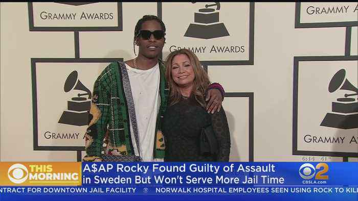 Rapper A$AP Rocky Found Guilty In Connection With Street Brawl In Sweden