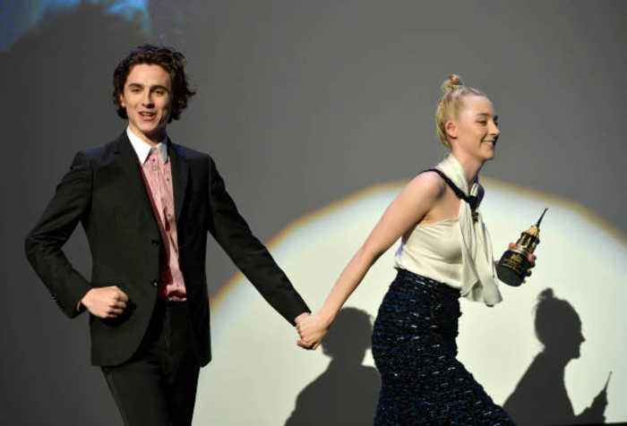 Saoirse Ronan and Timothée Chalamet are a 'bonfire of chemistry'
