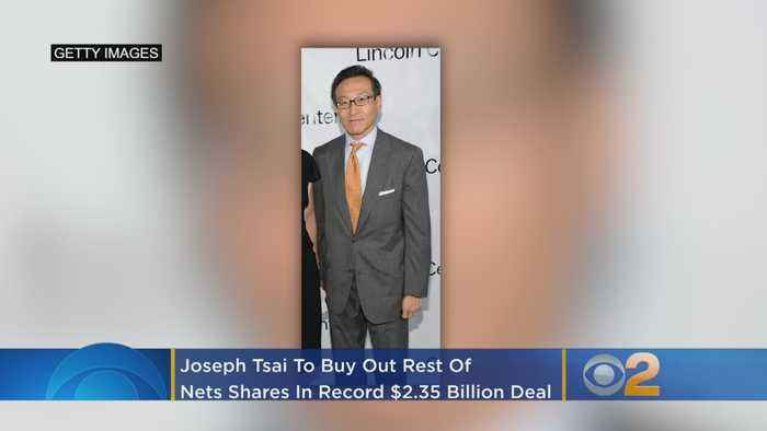 Joseph Tsai To Buy Out Rest Of Brooklyn Nets In Record $2.35 Billion Purchase