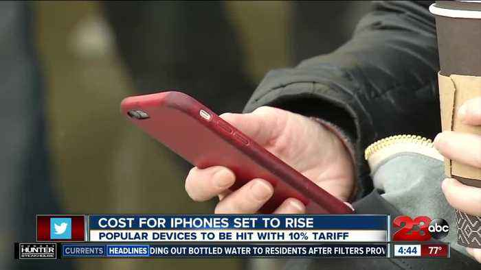 iPhones cost to rise if December tariffs hit