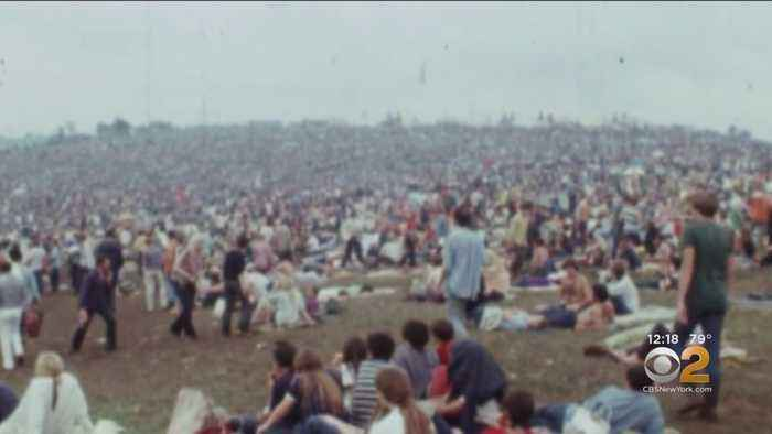 Author Documents Woodstock Music Festivals For Event's 50th Anniversary