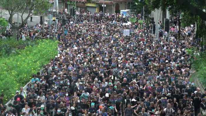 U.S. Gov't Warns Travelers About Hong Kong