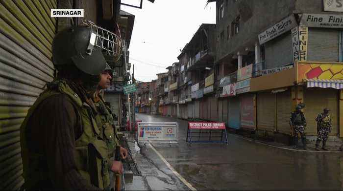 Indian-administered Kashmir remains under lockdown