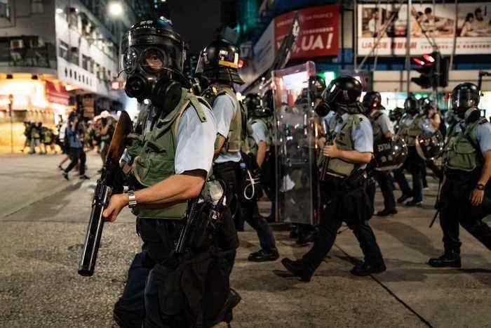 HONG KONG PROTEST TIMELINE