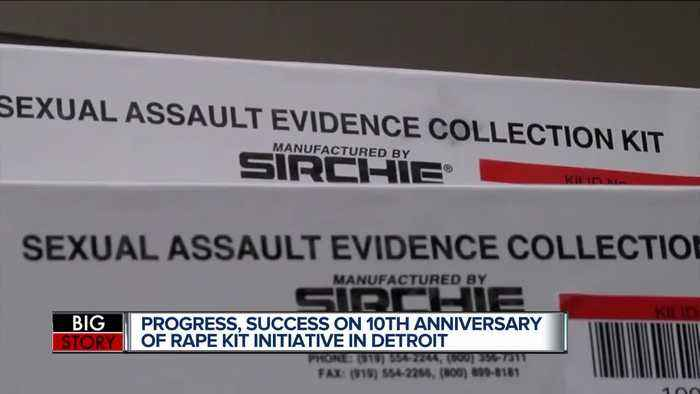 11,341 rape kits left inside Detroit Police storage have now been tested 10 years later