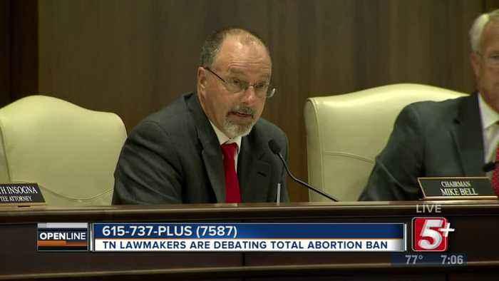 TN Lawmakers Debate Total Abortion Ban p1