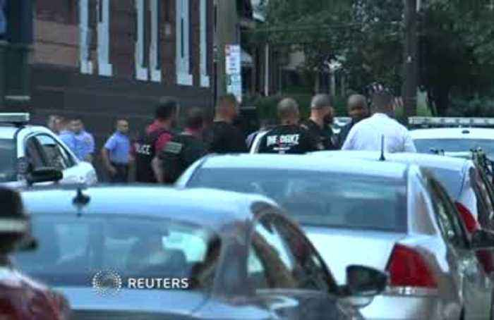 Philadelphia police officers shot in drug raid