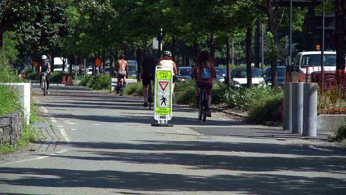 Some protected bike lanes leave cyclists vulnerable to injury