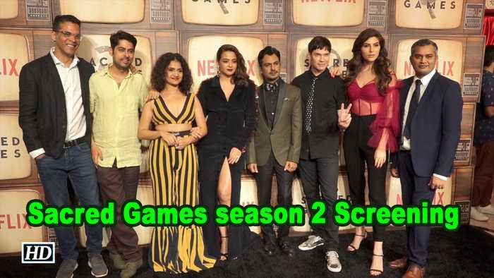 Sacred Games season 2 Screening | Nawazuddin Siddiqui, Suvreen Chawla attend